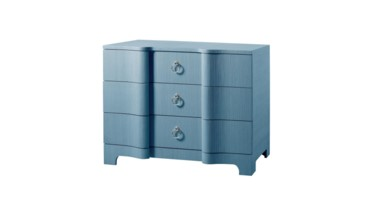 Bardot Large 3-Drawer, Blue