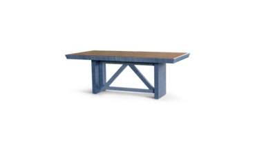Dorset Dining Table, Navy