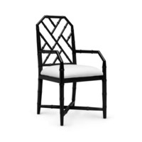 Jardin Arm Chair, Black