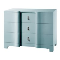 Brigitte Large 3-Drawer, Blue