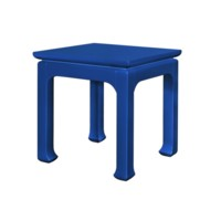 Harlow Tea Table, Blue