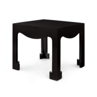Jacqui Tea Table, Black