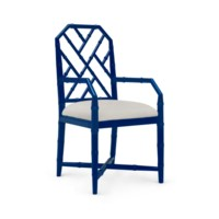 Jardin Arm Chair, Blue
