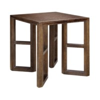 Langham Side Table, Brown