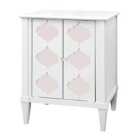 Marisa Side Cabinet, White