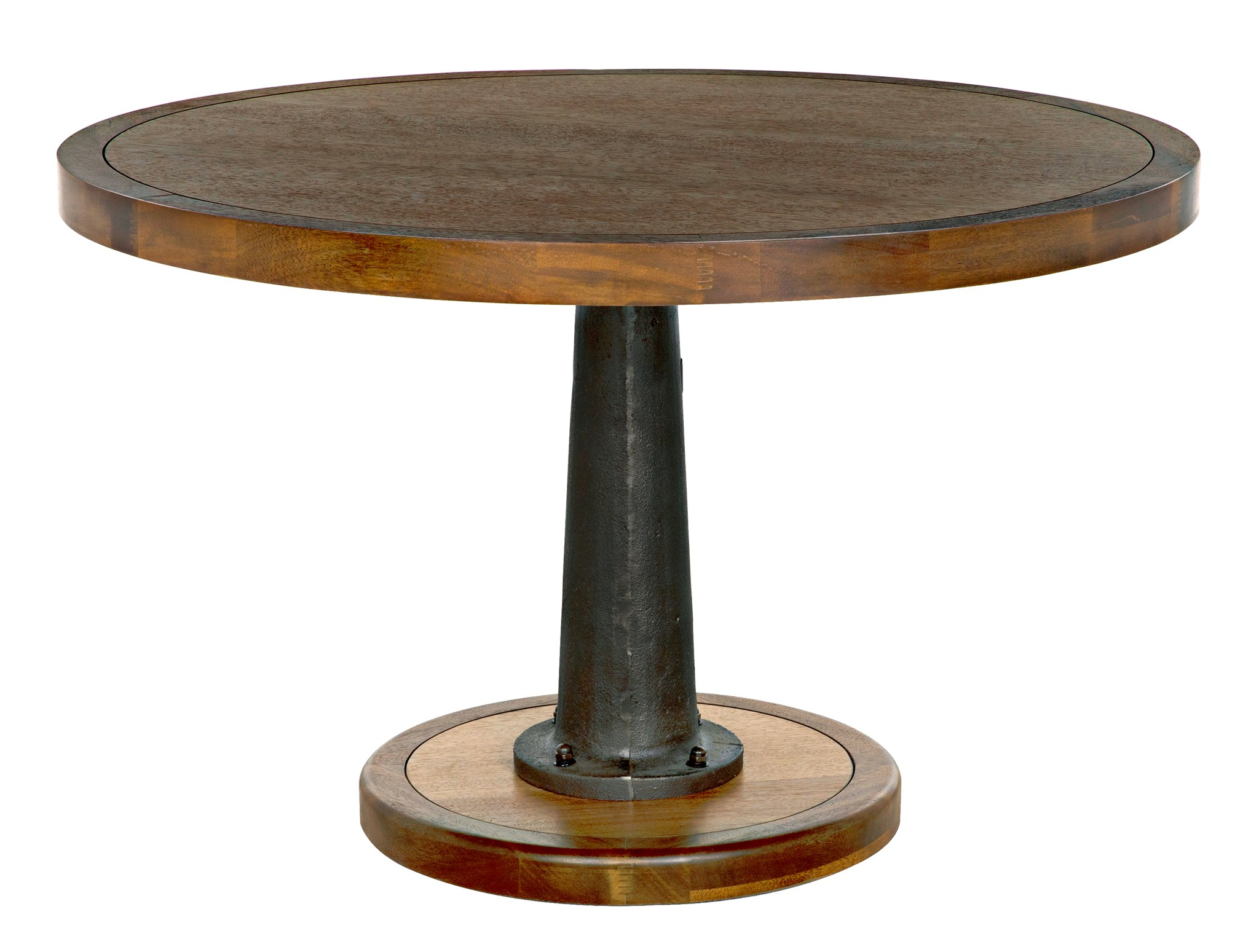Yacht Dining Table With Cast Pedestal 48