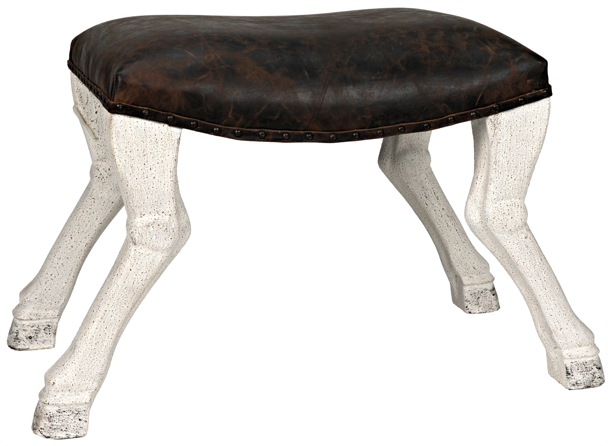 Horse saddle chair - View Larger Image