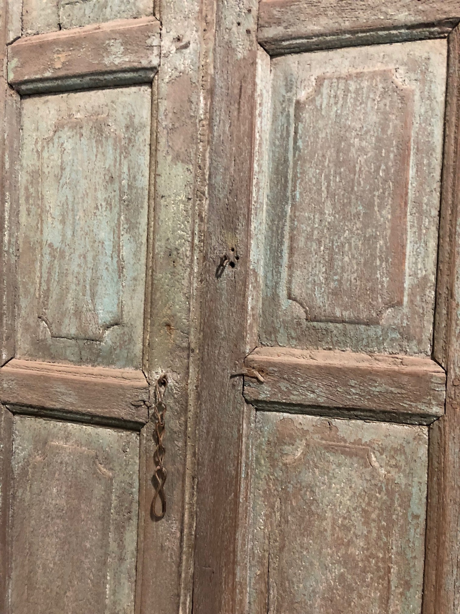 Wood Door with Frame BC