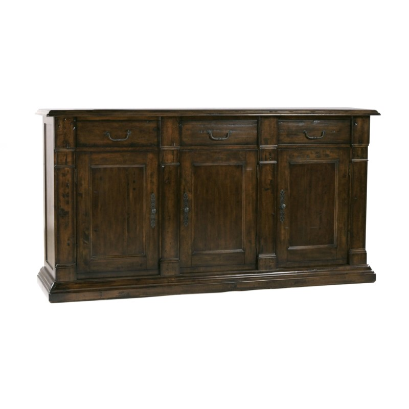 Tuscany 3 Door Buffet Chestnut/Birch