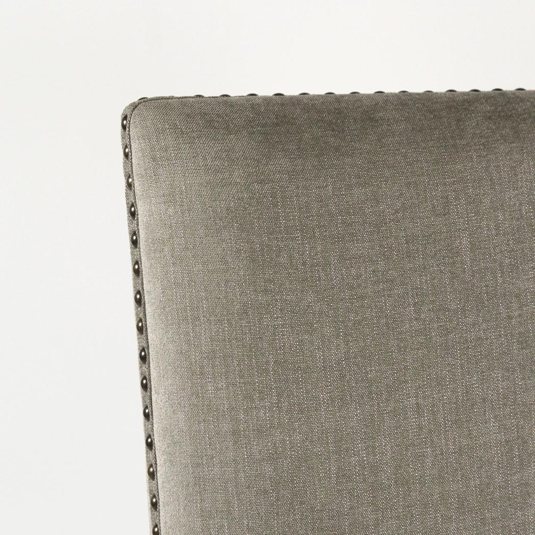 Ane Arm Chair Granite Ash / Chestnut Finish