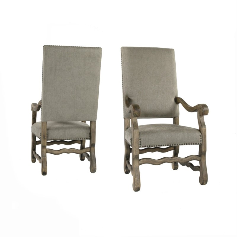 Ane Arm Chair Granite Ash Driftwood