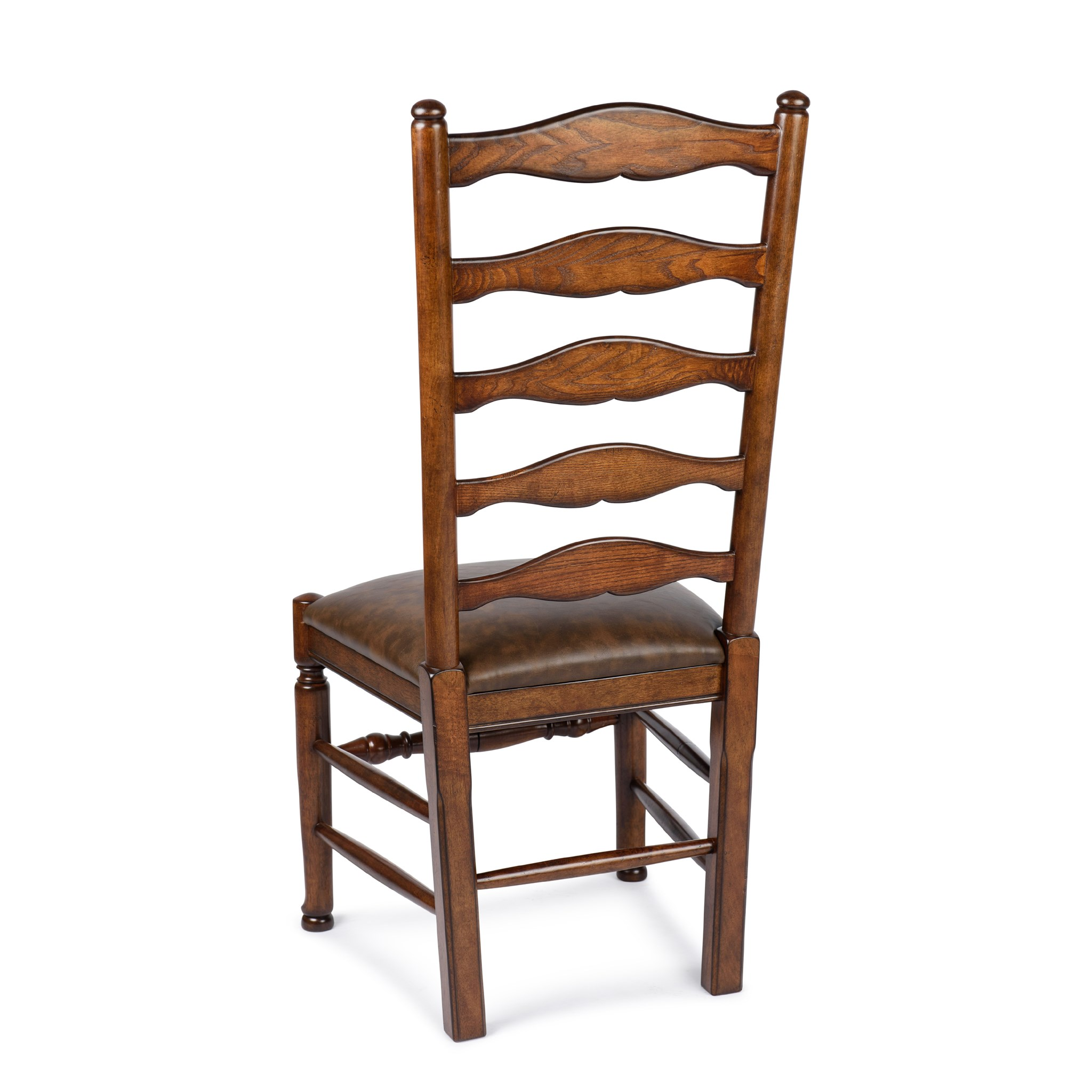 Ladderback Side Chair Primo Timber Chestnut