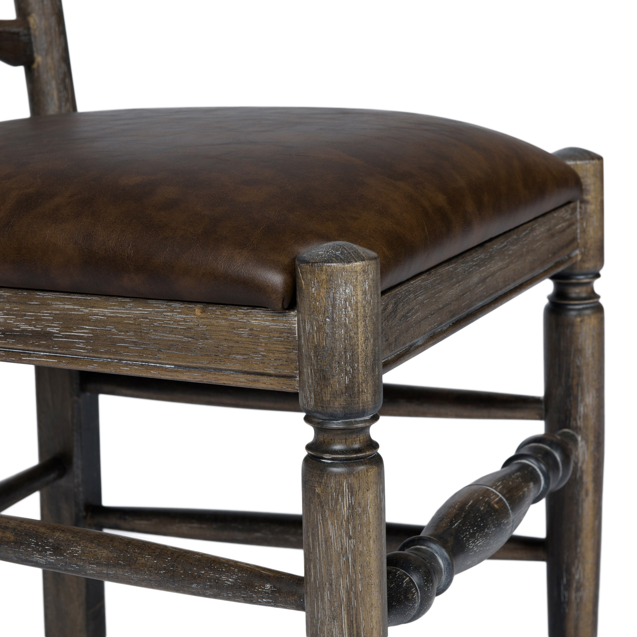 Ladderback Side Chair Primo Timber Driftwood