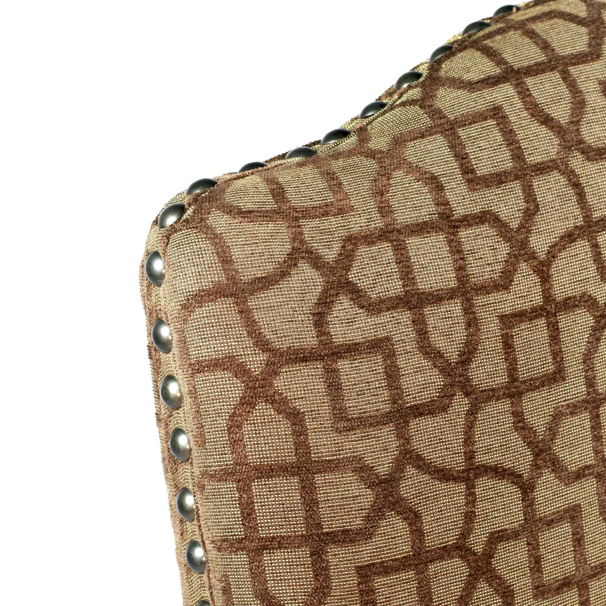 Hayden Arm Chair Brown Mosaic w/Primo Timber
