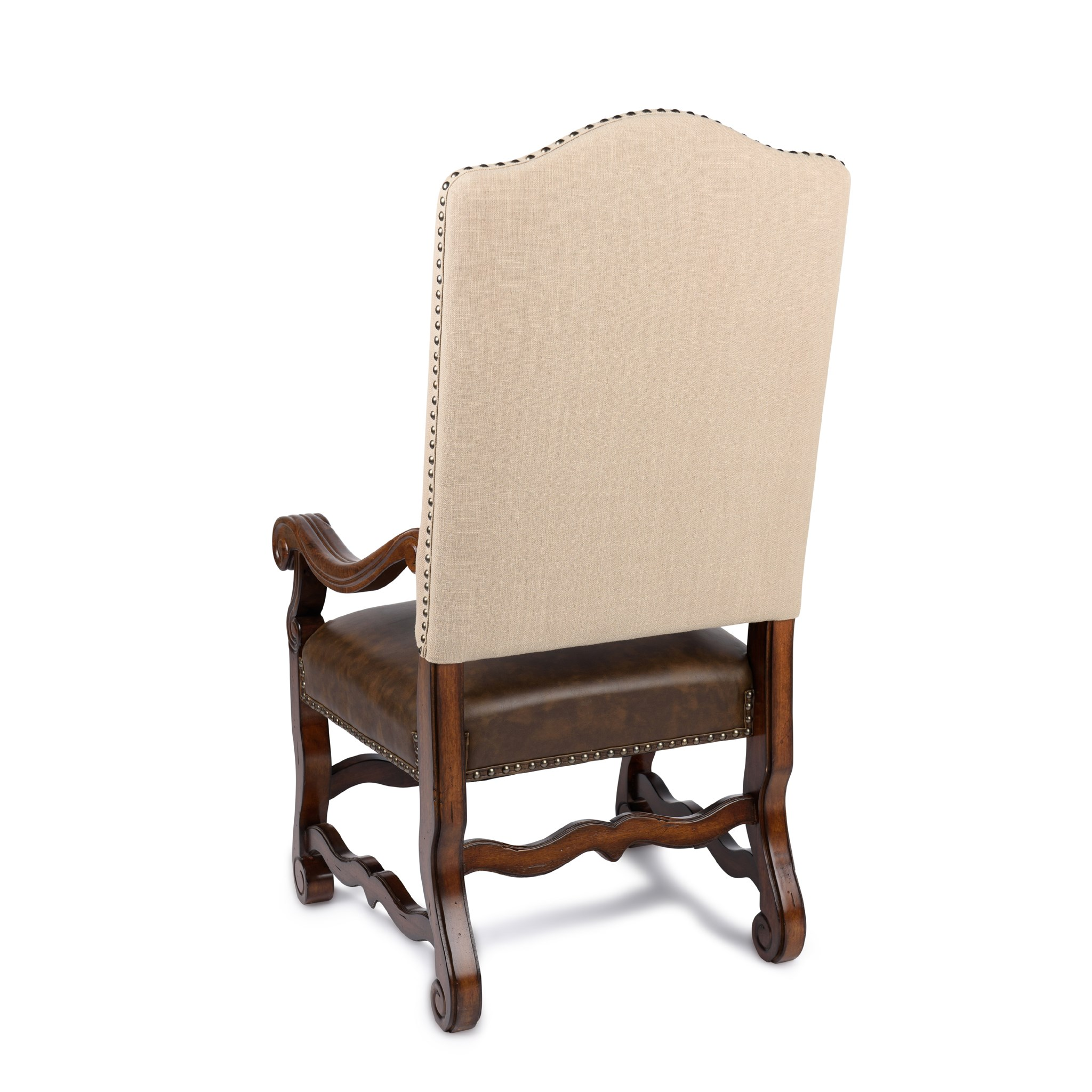 Hayden Arm Chair Natural Linen/Primo Timber