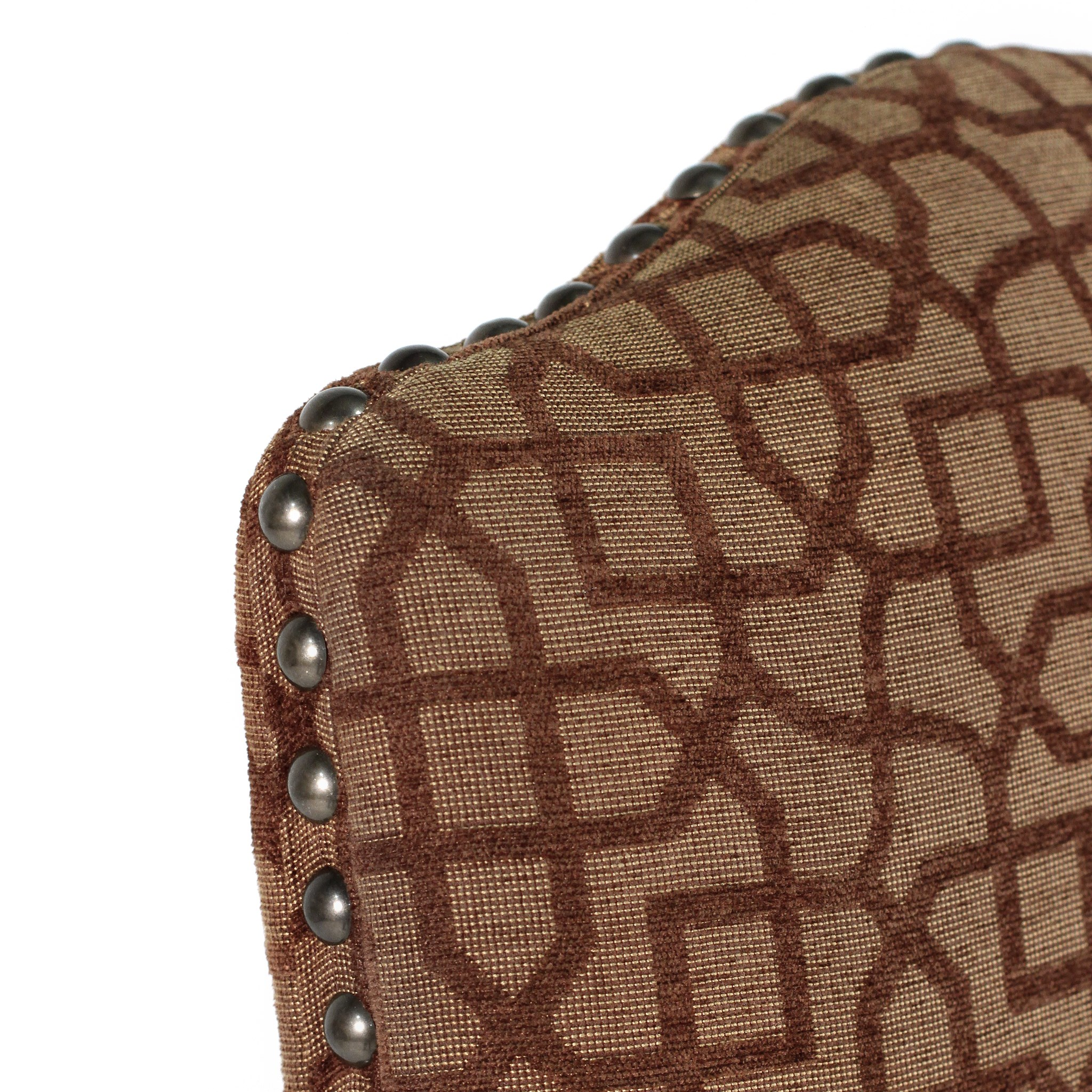 Hayden Side Chair Brown Mosaic w/Primo Timber