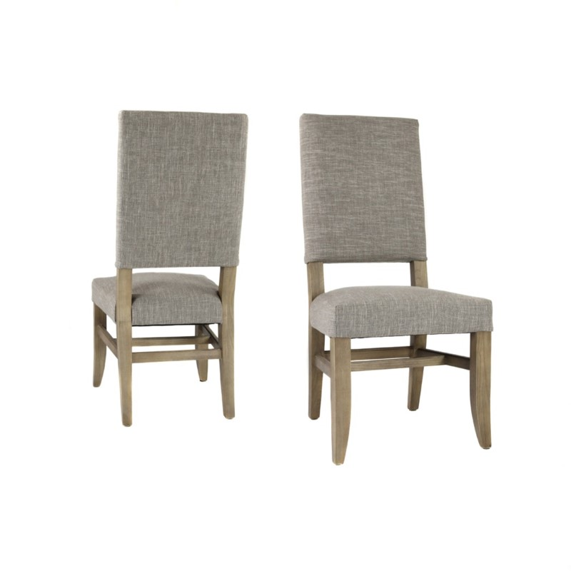 Claire Side Chair Clay Linen Driftwood