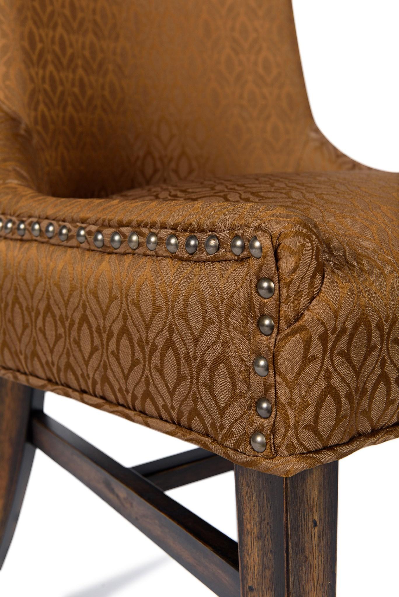Joplin Side Chair Ogee Dark Walnut