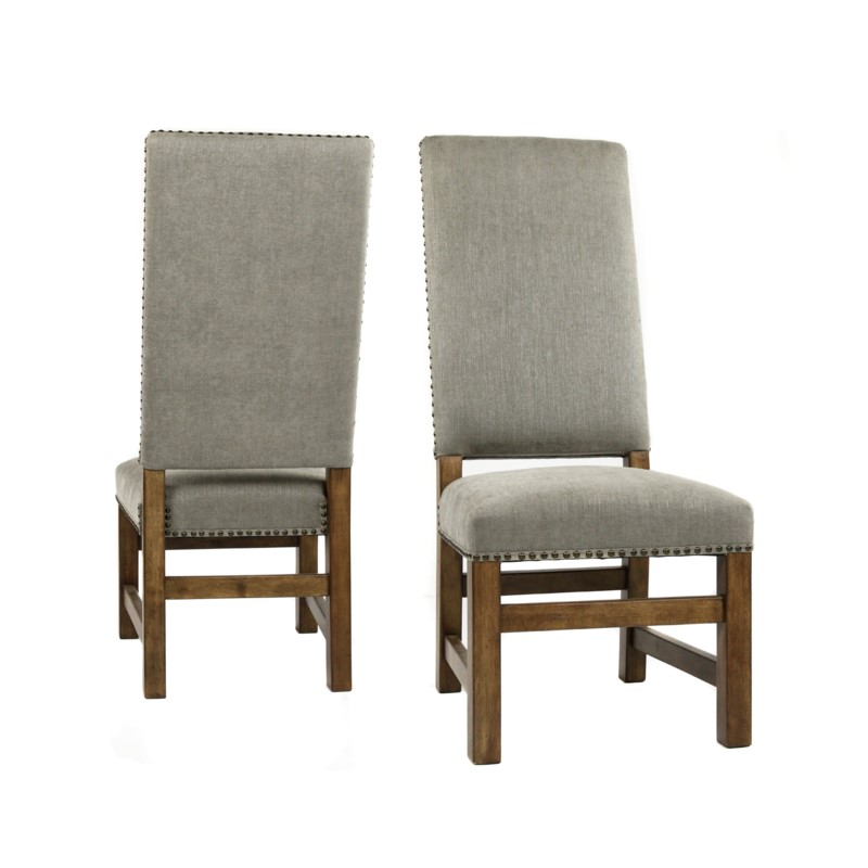 Leah Side Chair Granite Ash / Earth