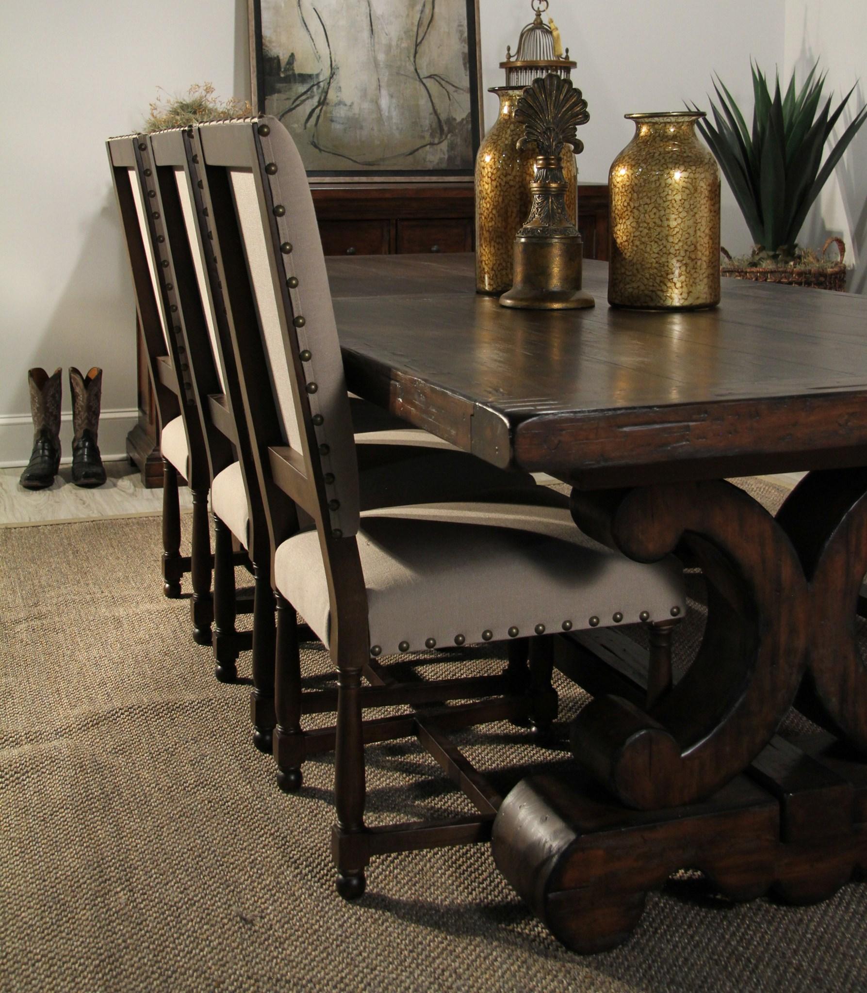 Norah Chair Natural Linen FL015 / P110 Brown