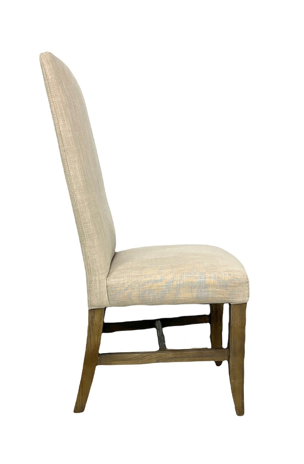 Winston Side Chair Natural Linen Driftwood