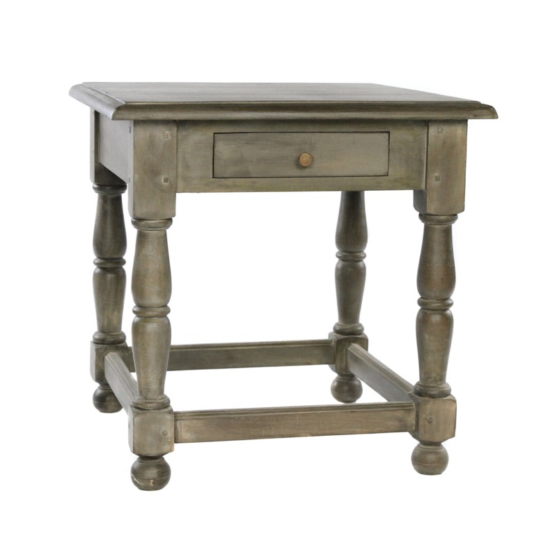 Cardiff End Table 24x24x24 Salvage