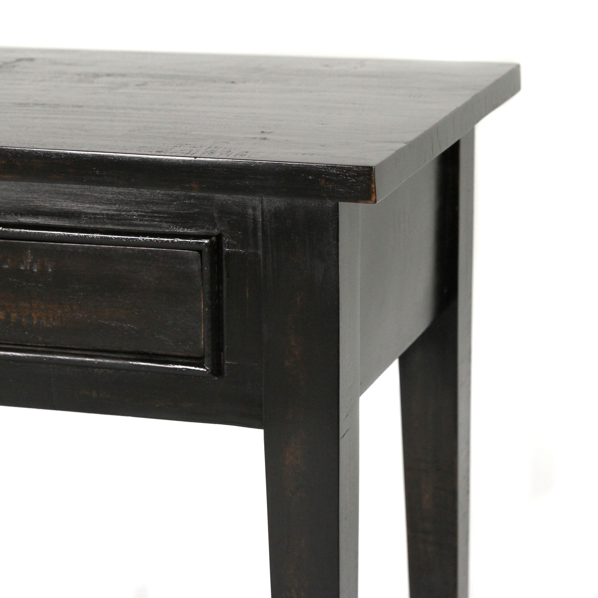 Mistral Console Table 66x20x31 Black