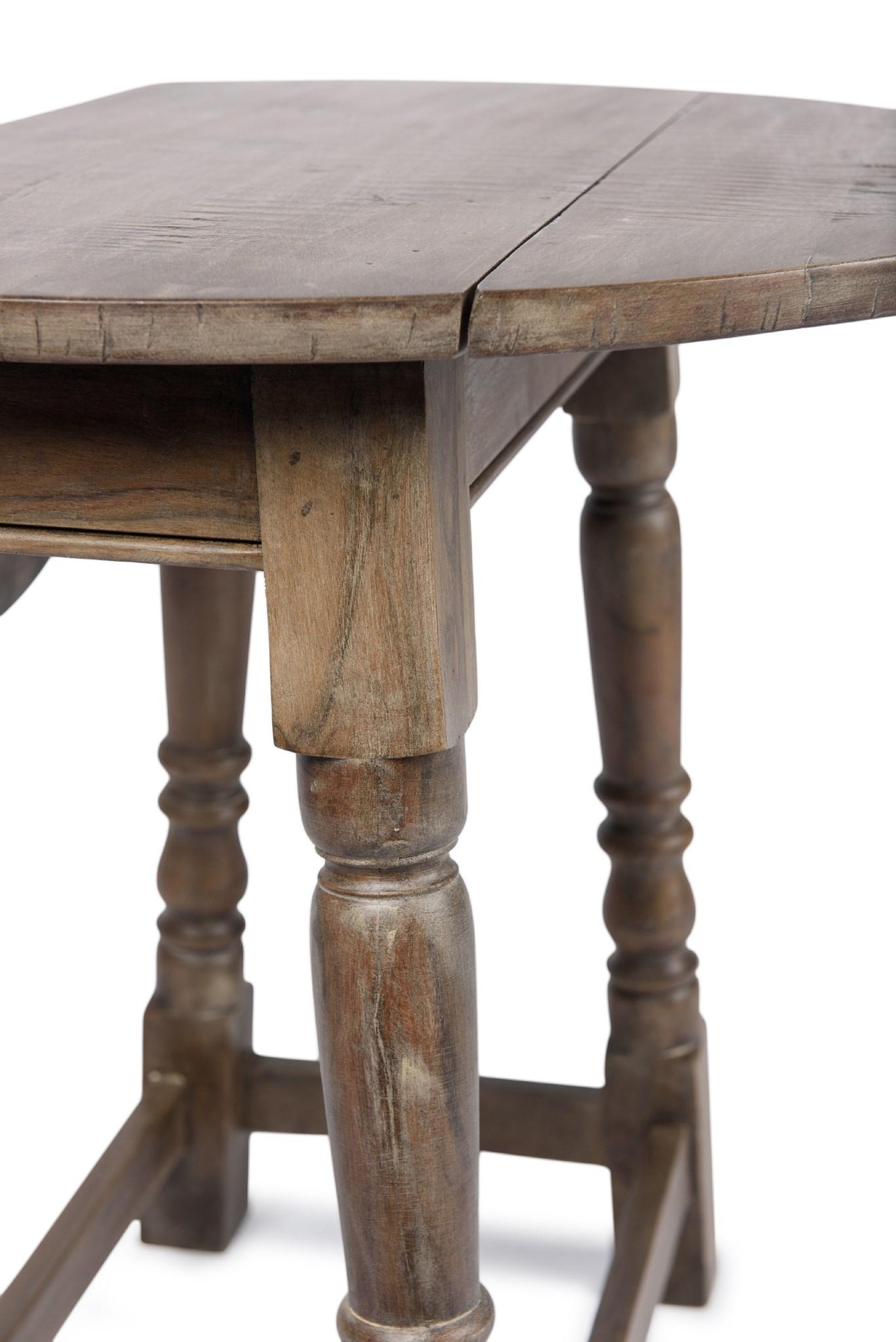Drop-leaf Side Table 24x24x24 SAL