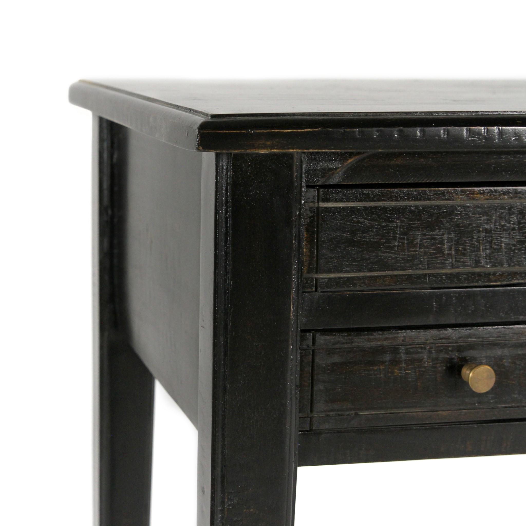 Kingston Desk 48x24x31 Black