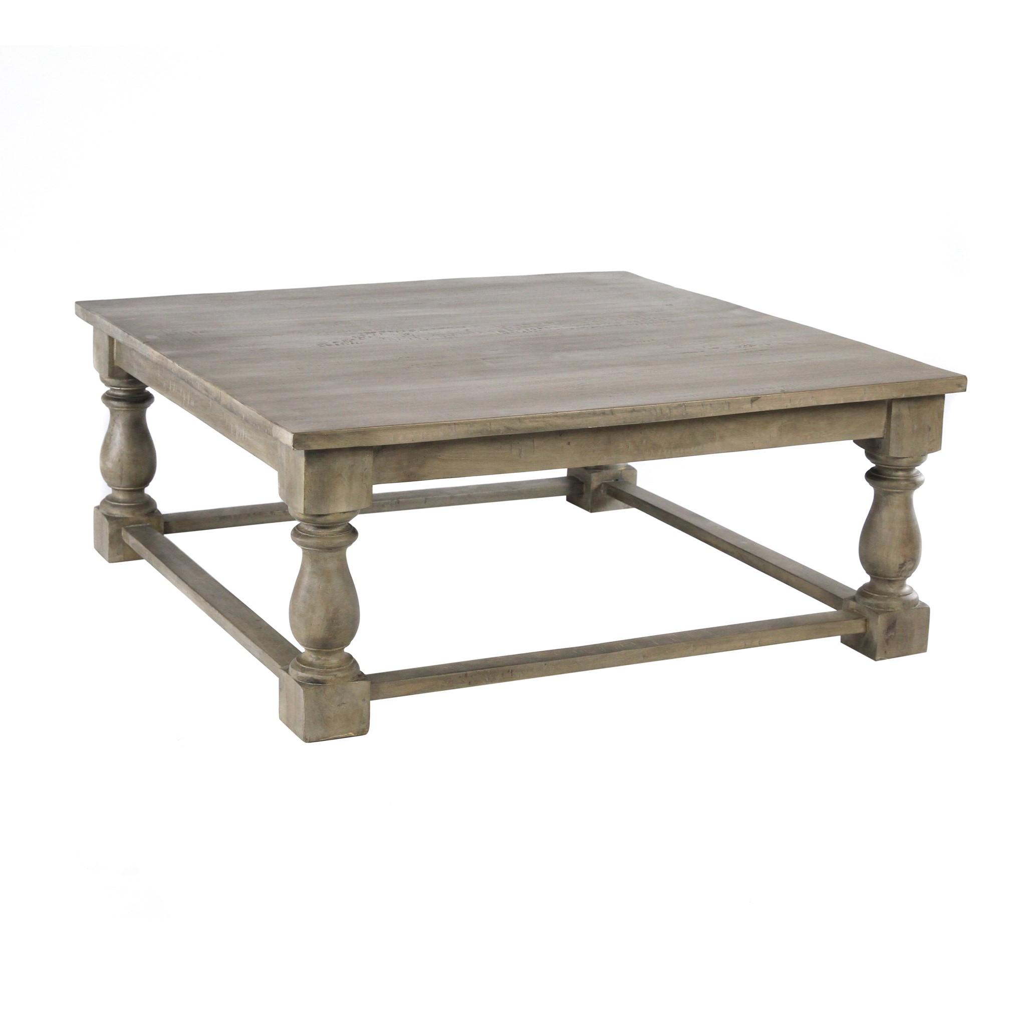 Bluster Leg Coffee Table 48x48x20 SAL