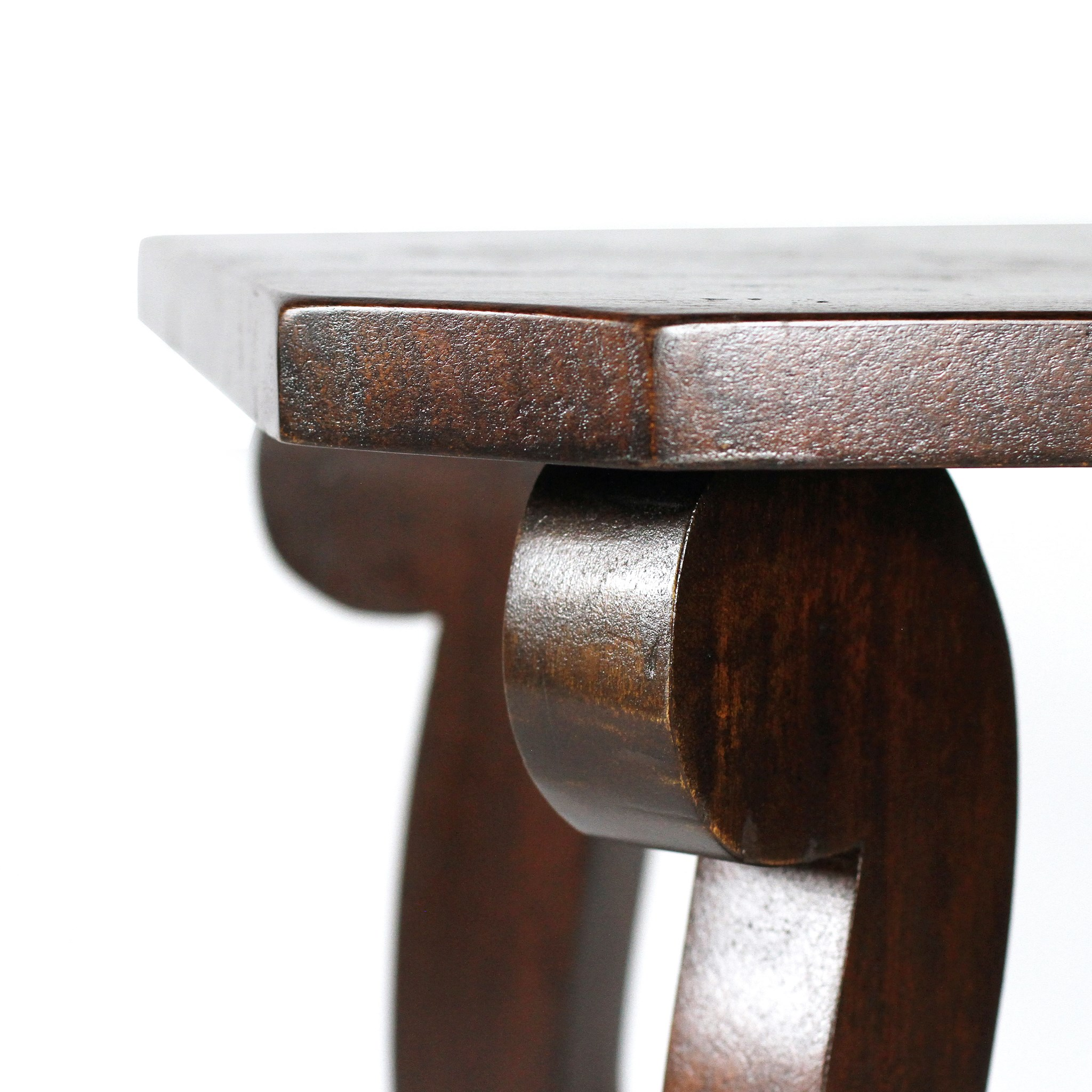 Biedermeier Side Table Chestnut 26x20x26
