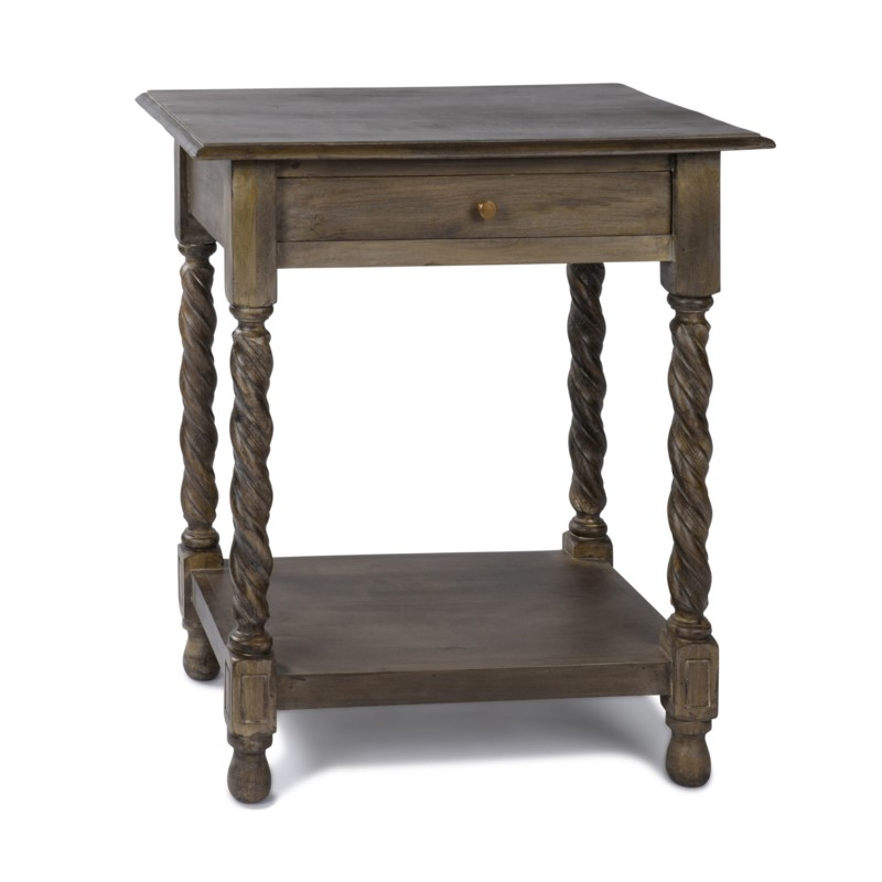 Barley Twist Side Table (SAL) 28x20x32