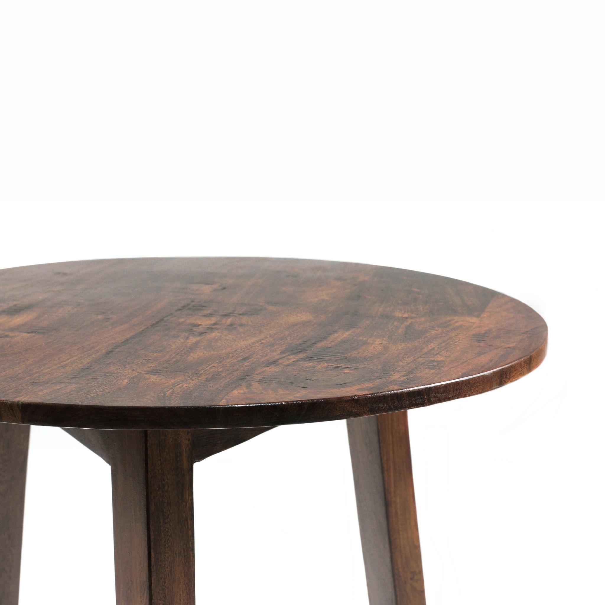 Cricket Table Chestnut 26x26x26