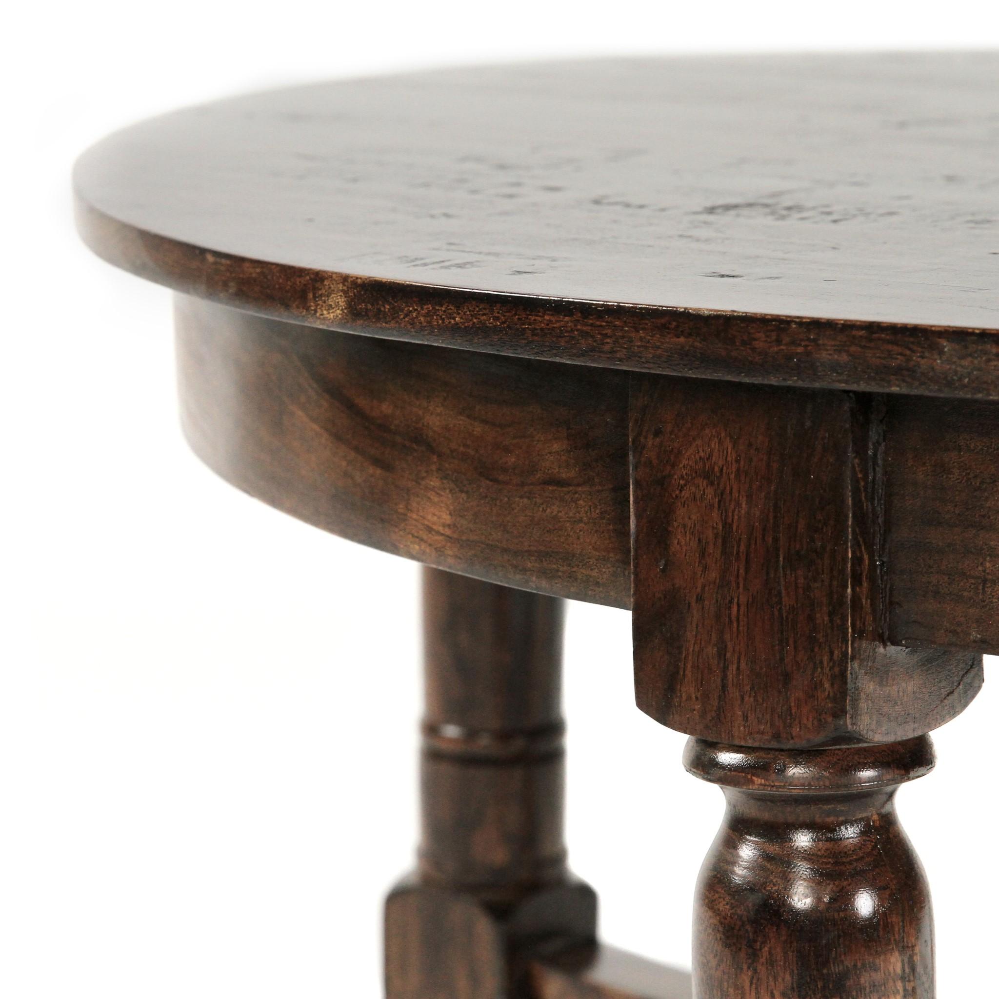 German Round Coffee Table 40x40x20