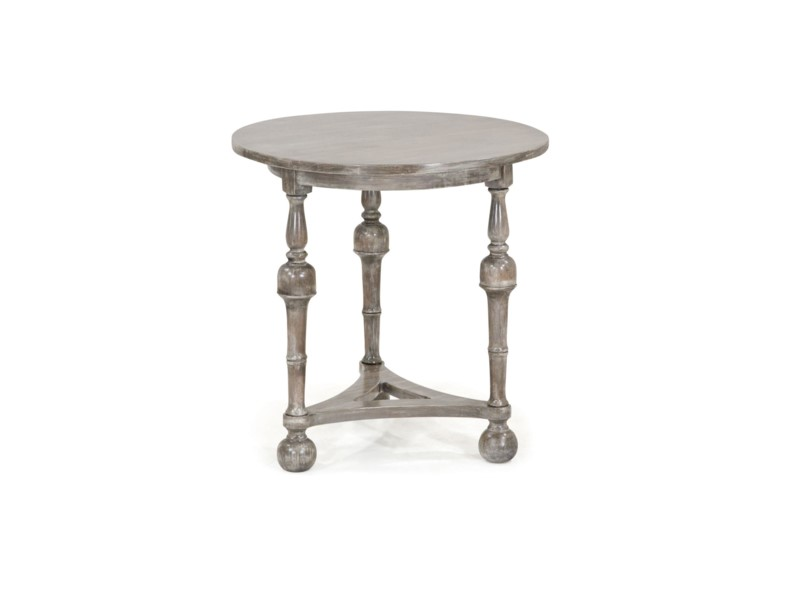 Curry Side Table Stone Wash Dark