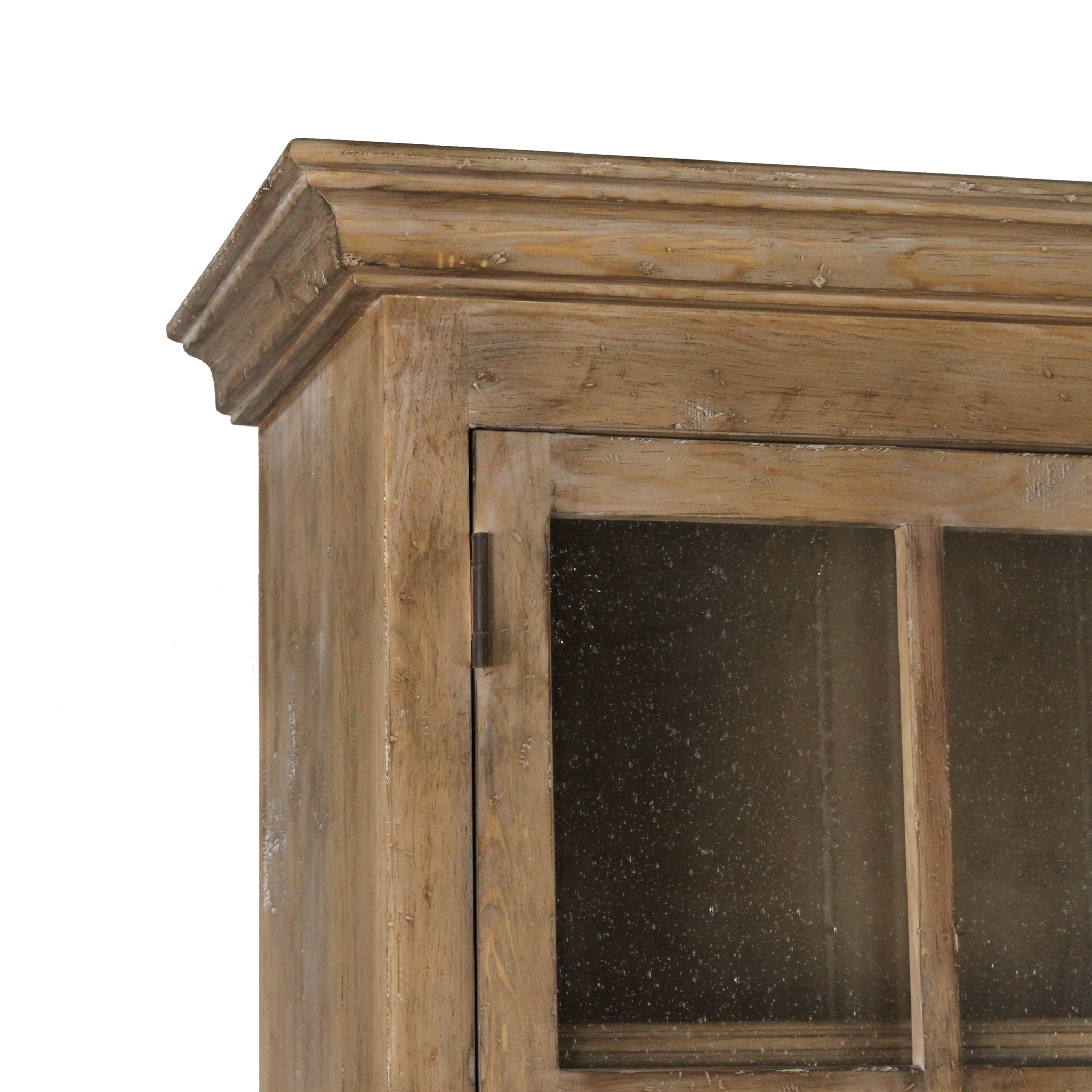 Ipswich Glass Linen Press Natural White