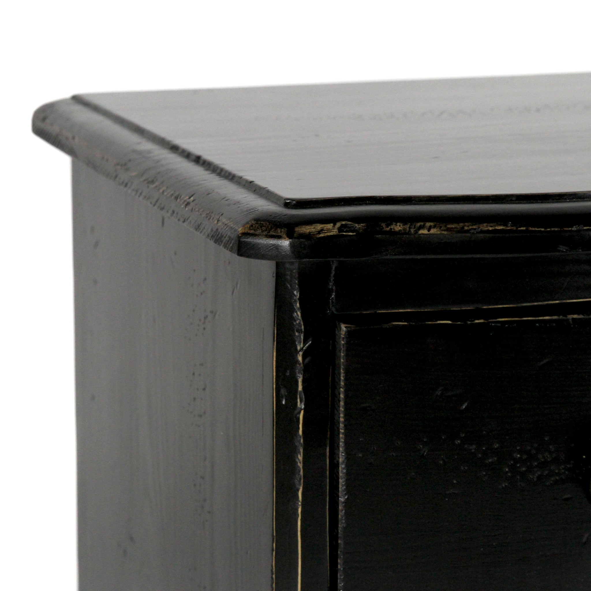 Josephine Night Stand Small 29x18x30 OW Black