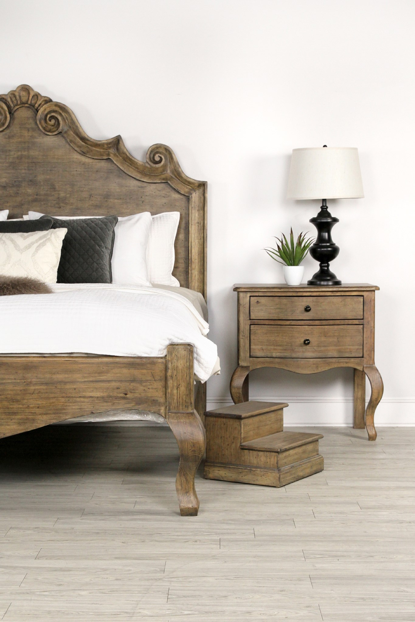 Letty Night Stand Driftwood
