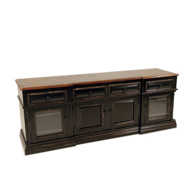 Oliver TV Cabinet Tobacco / OW Black