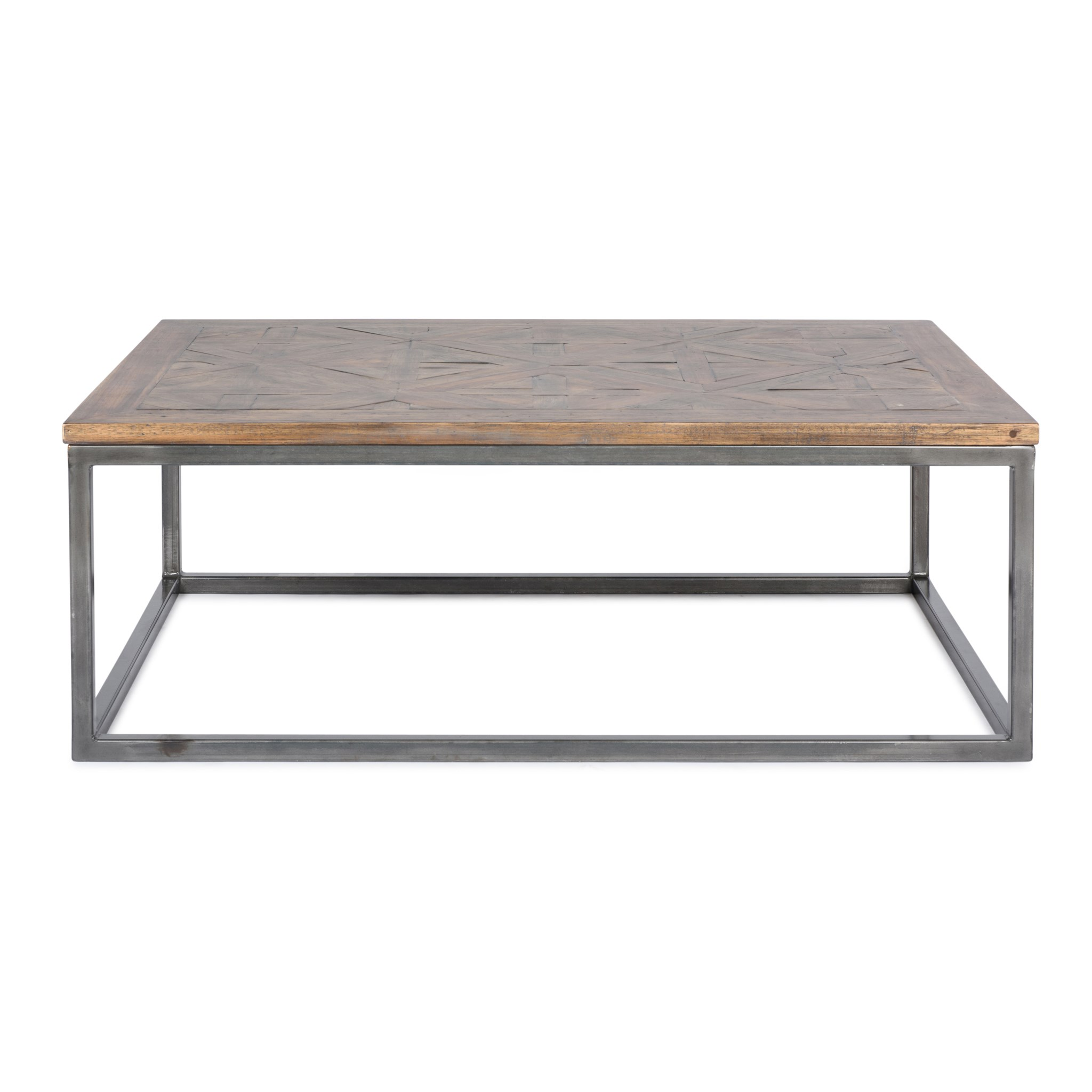 Rochelle Coffee Table Driftwood/Gun Metal