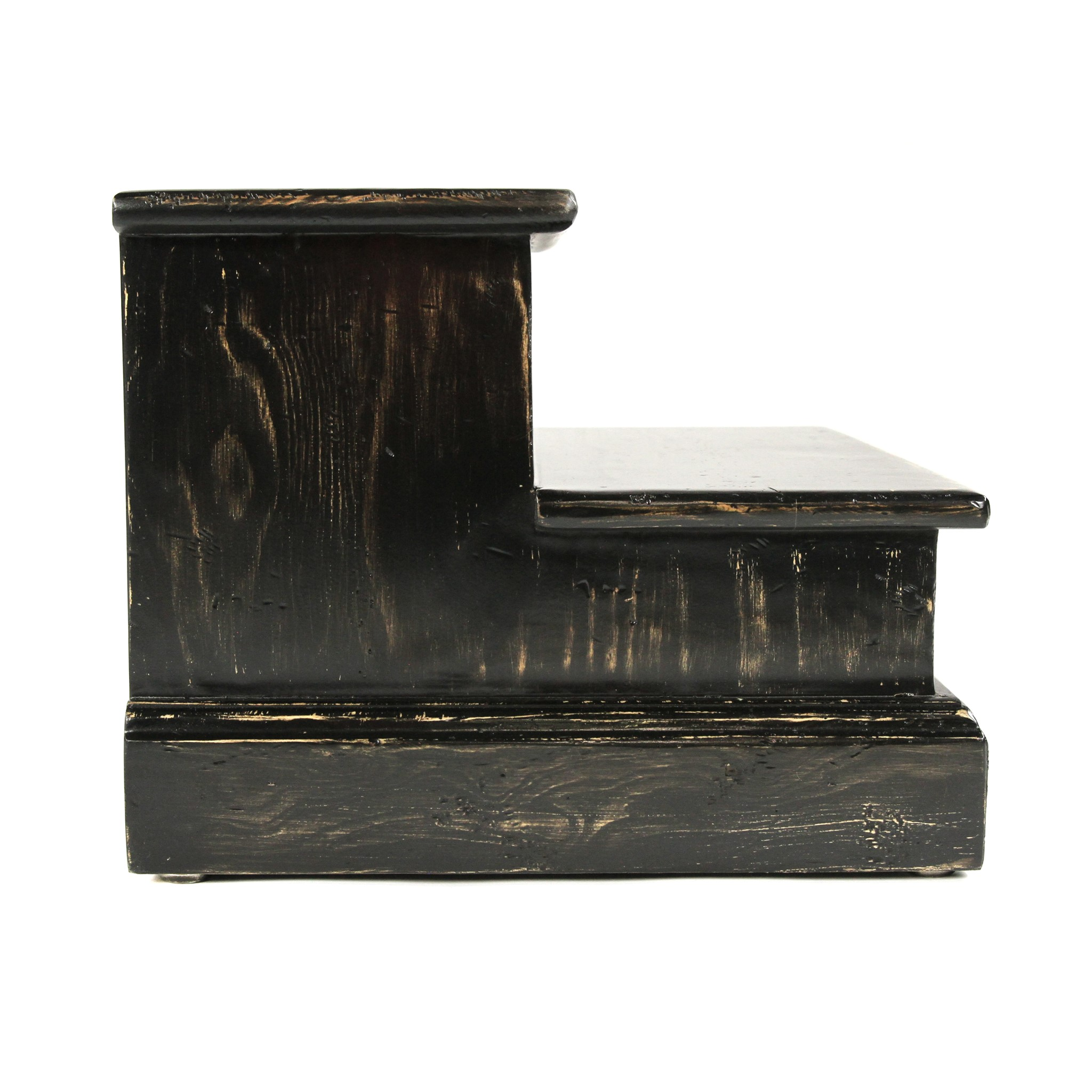 Step for Bed Rubbed Black