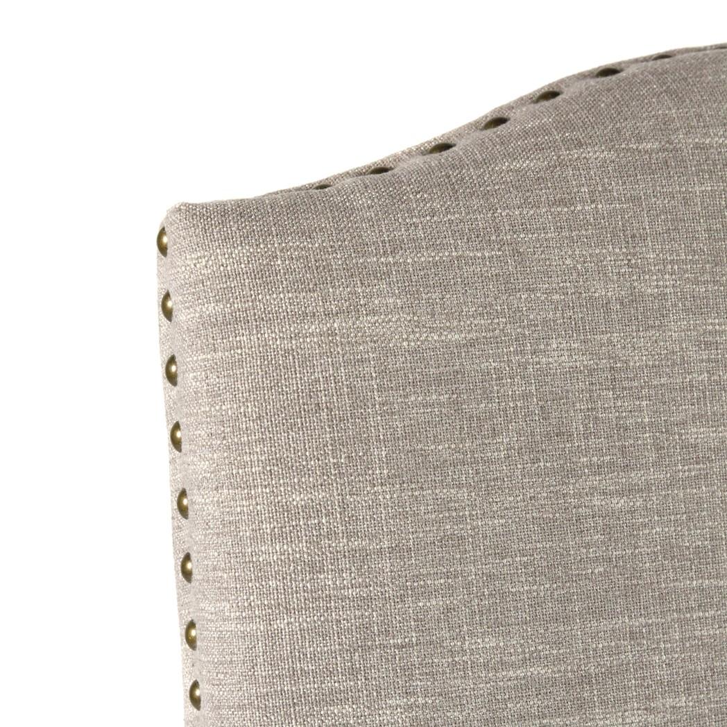 Jacobean Chair Arm Linen Clay Primo Timber