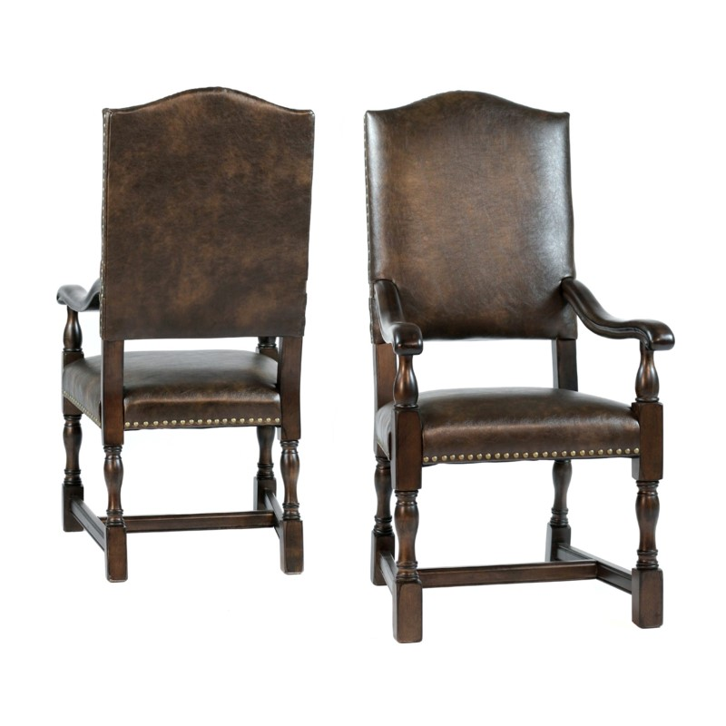 Jacobean Chair Arm Primo Timber