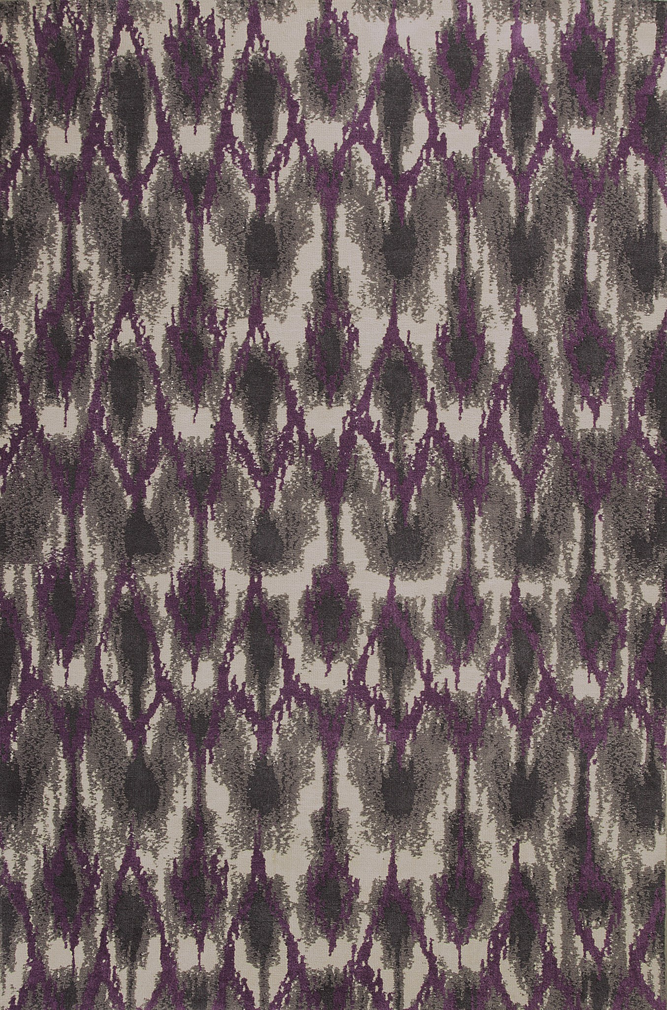 Allure 4058 Grey/Purple Horizon