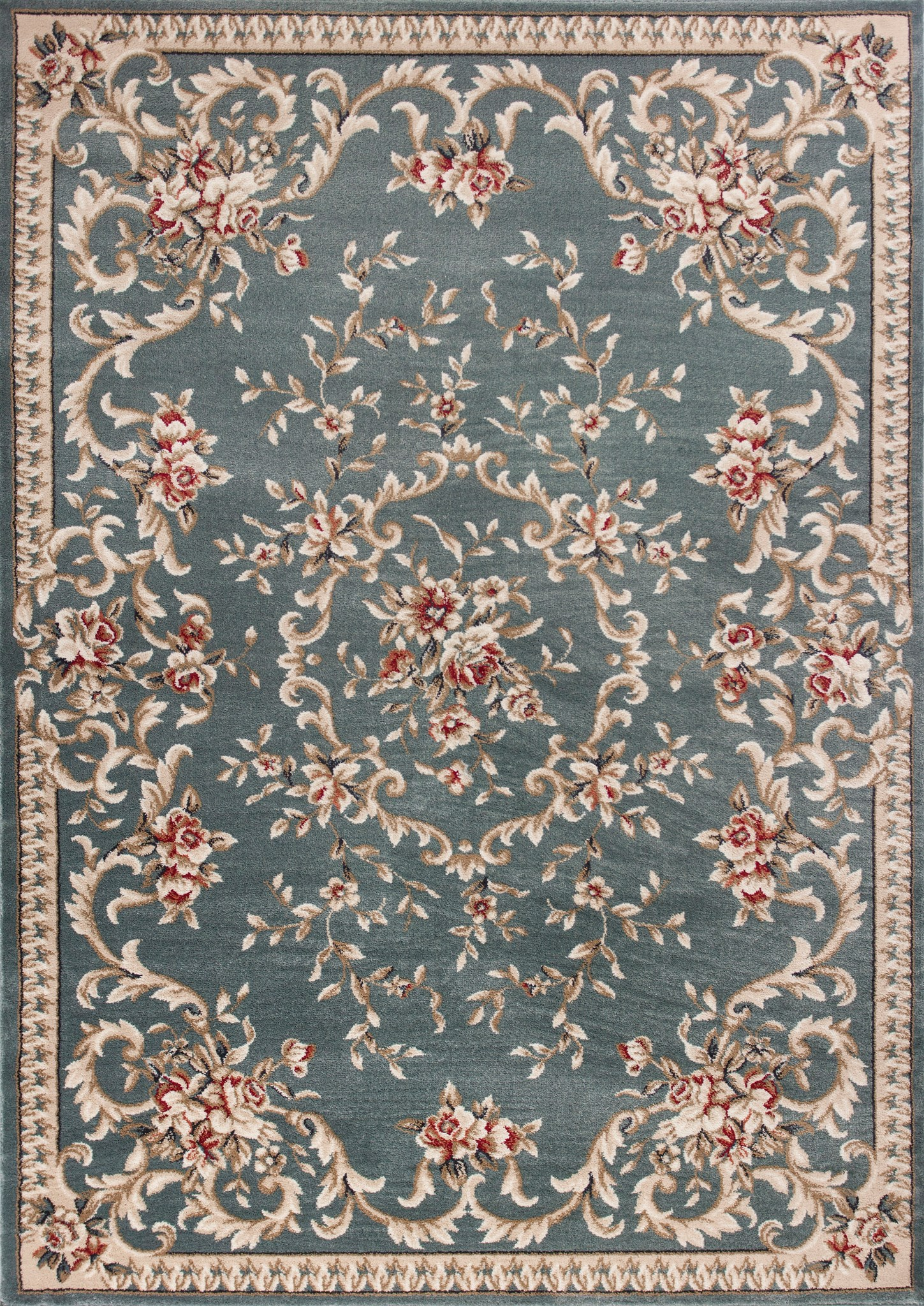 Avalon 5602 Slate Blue Aubusson