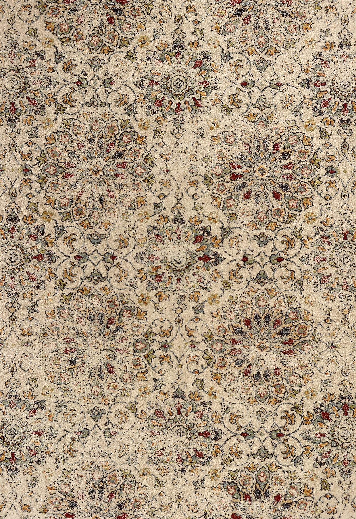 Sand KAS Oriental Rugs Florence Collection Allover Mahal Area Rug 30 x 50