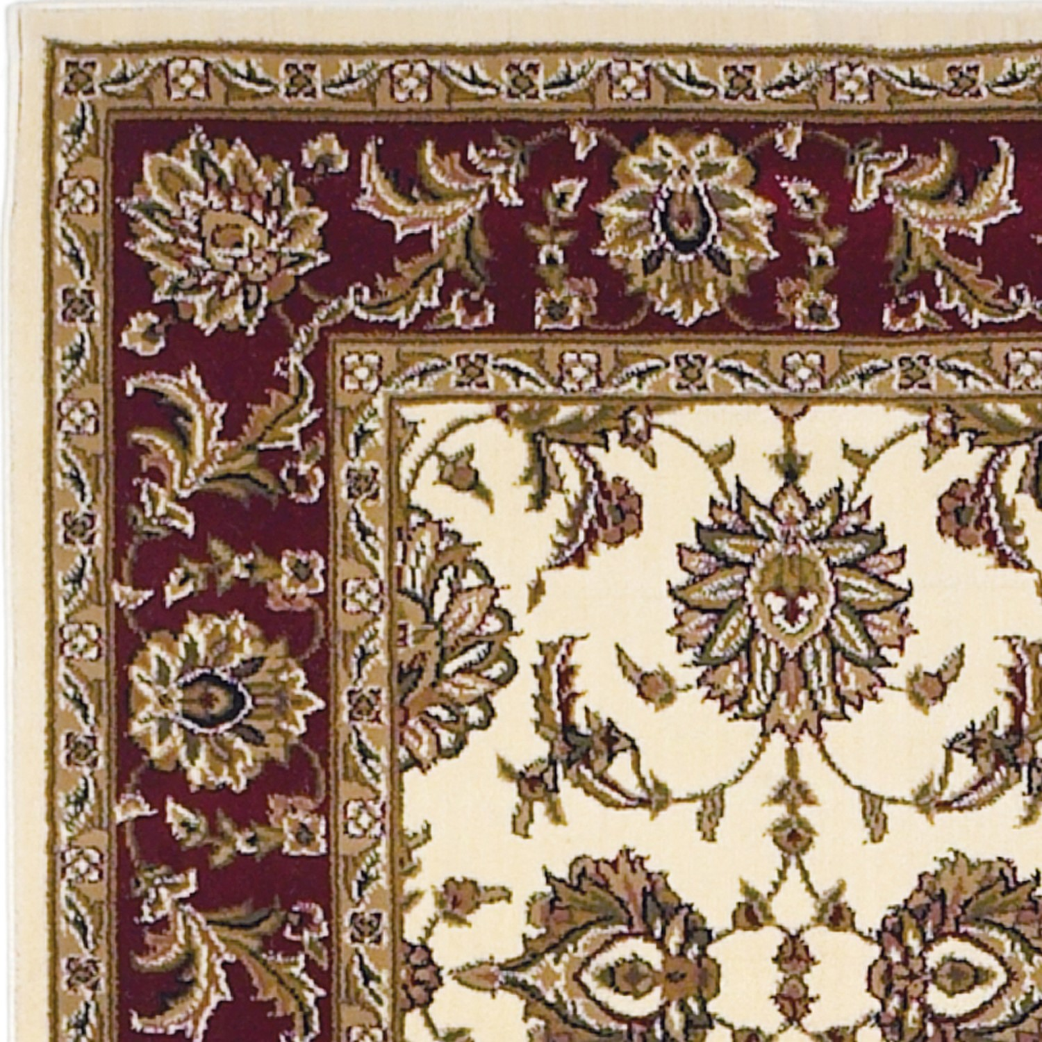Cambridge 7312 Ivory/Red Kashan