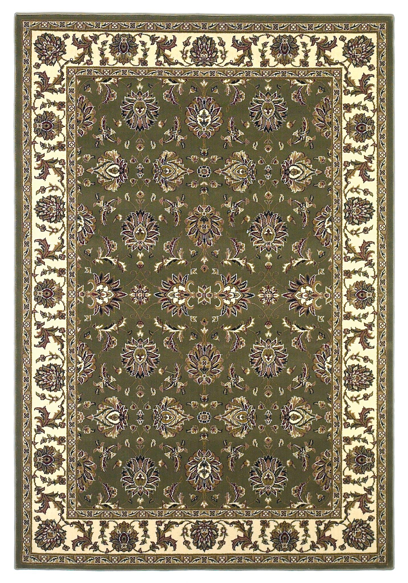 Cambridge 7314 Green/Ivory Kashan