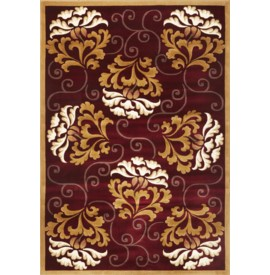 Corinthian 5346 Red/Beige Damask