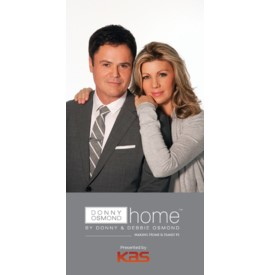 Donny Osmond Home Rug Rack Sign